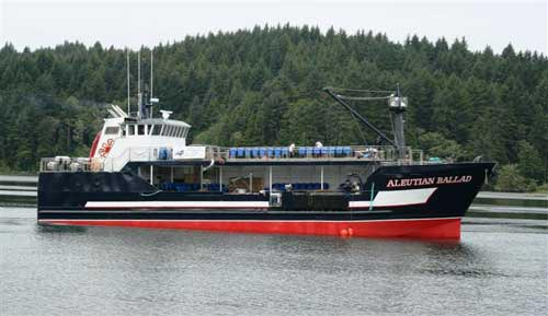F v aleutian ballad giddings boatworks for Crab fishing boat