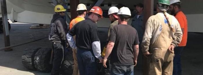 Dockside Haul Out Repairs Oregon
